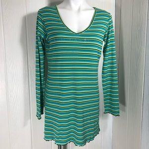 Victoria's Secret Knit Short Night Shirt Gown Med